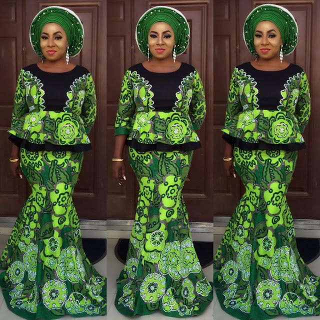 Creative Aso Ebi Skirt and Blouse Style - DeZango Fashion Zone