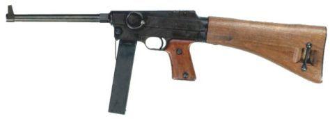 Pistolet mitrailleur MAS 38