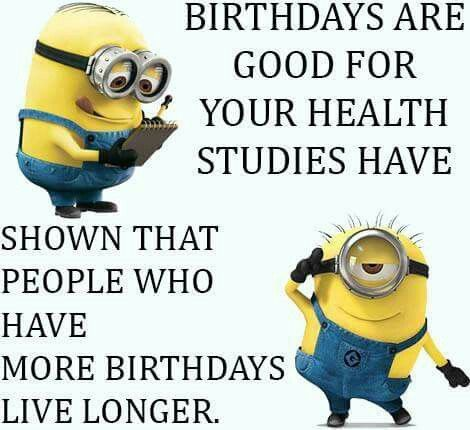 Group Of Birthday Minion As Well