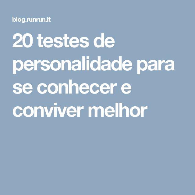 20 testes de personalidade para se conhecer e conviver melhor