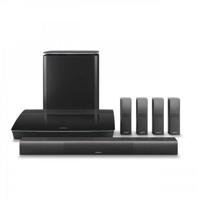 BOSE Lifestyle 650 5.1 Channel Home Theatre Speaker System in Black   Atlantic Electrics #bose #hometheater #speaker #audio #soundsystem #boselifestyle