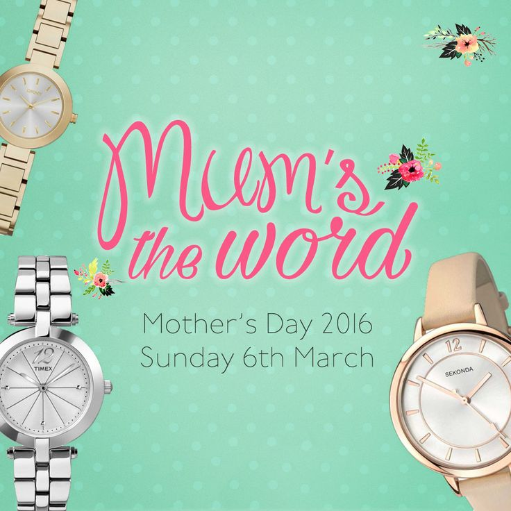 Give the gift of time with a gorgeous watch from our #MothersDay collection. http://www.houseofwatches.co.uk/mothers-day