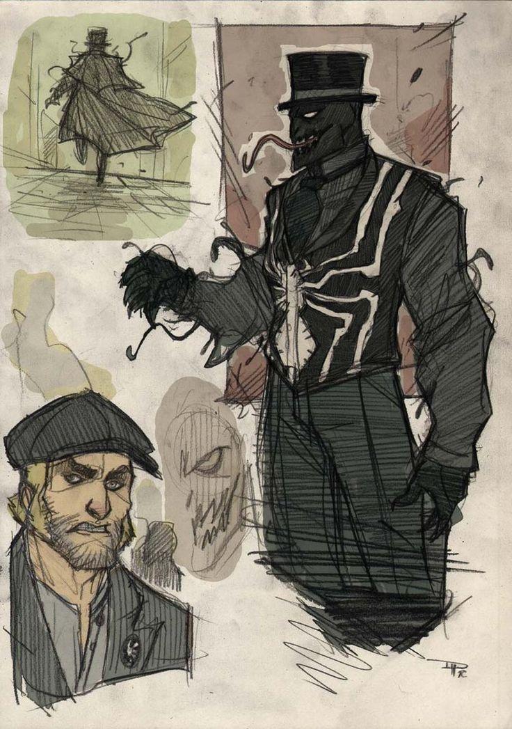 Resultado de imagen para spiderman steampunk
