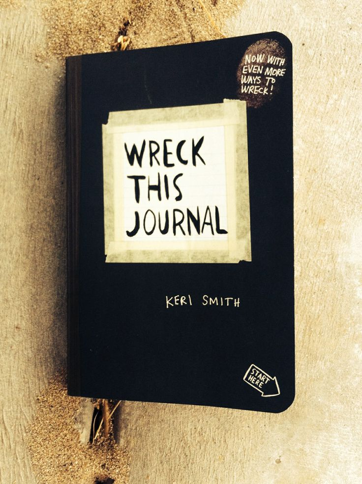 My Wreck this Journal!! Date started 31st March 2014.