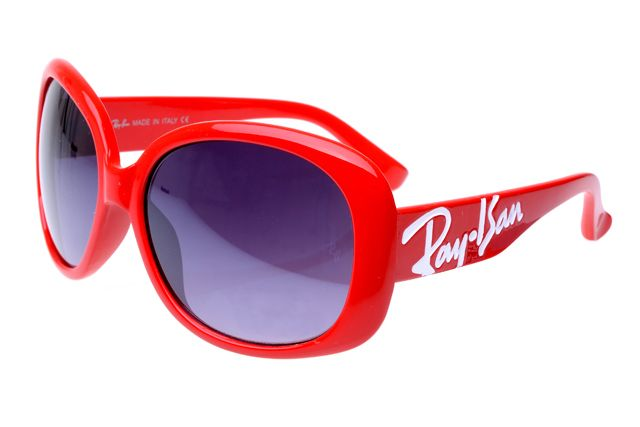 Ray Ban Jackie Ohh RB7019 Sunglasses Deep Red Frame