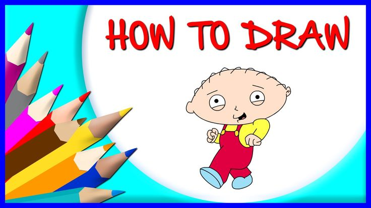 How to Draw stewie griffin | Drawing Time Lapse | 853672 HTD