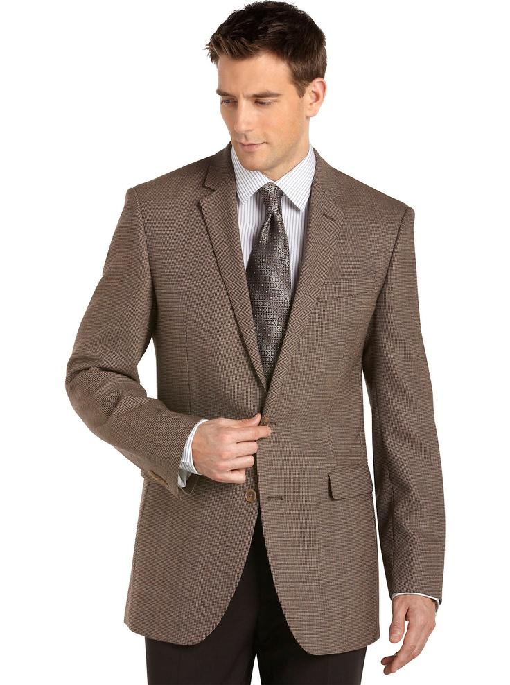Sport Coats & Vests Cole Brown Check Sport Coat