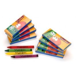 Veggie Tales Crayons for Goody Bags