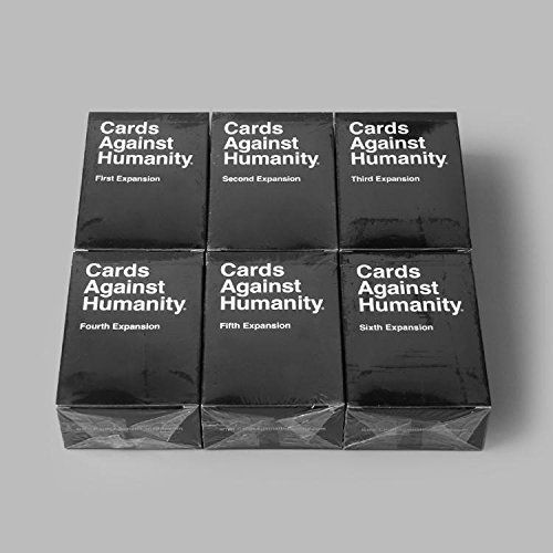 Amazon.com: Hot X6 All Sets Expansion 1-6 Card Game Against Humanity: Sports & Outdoors