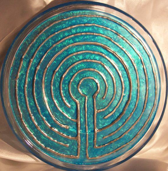 Meditation Finger Labyrinth / Classic by ElegantlyEnchanting