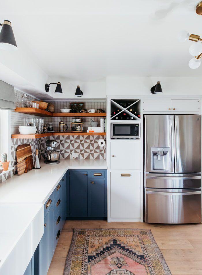 37 Inspiring Diy Small Kitchen Open Shelves Decor Ideas Kitchen