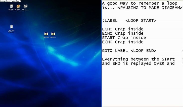 How To Make A Simple Program or Software With Notepad (HD)