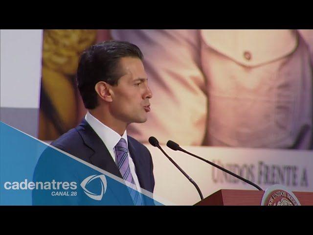 Peña Nieto a favor de desaparición de IEEPO en Oaxaca. Dijo que es un compromiso ético y legal en pro de la juventud del estado