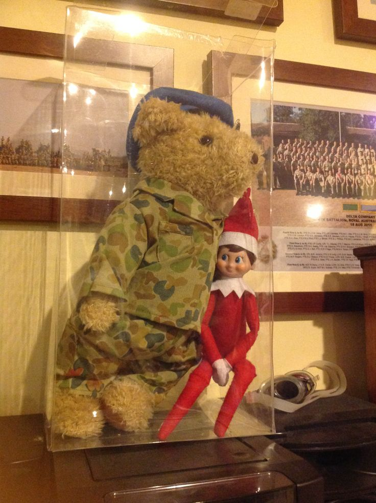 Day 14, Hanging with the army bear...
