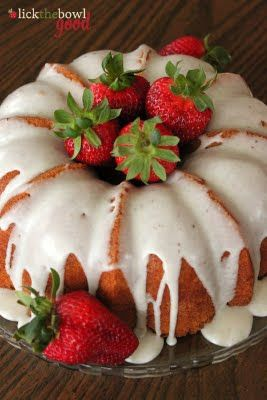 Very Vanilla Bean Bundt Cake - From Lick the Bowl Clean