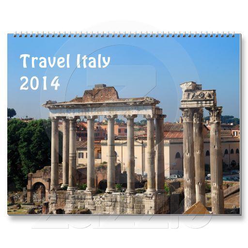 Travel Italy 2014 calendar