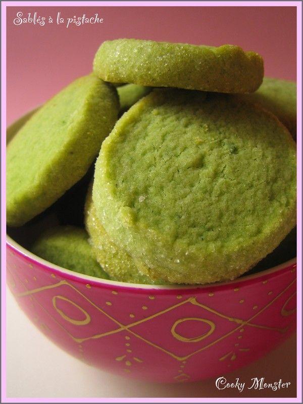 Biscuits de Noël : sablés à la pistache