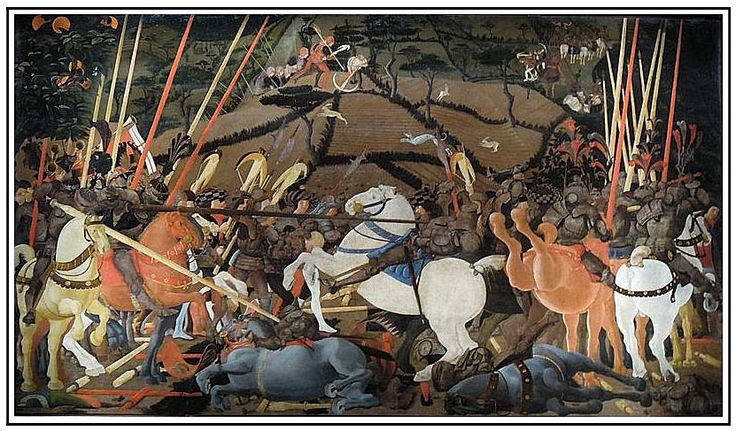 renaissance battle painted in perspective - Google Search