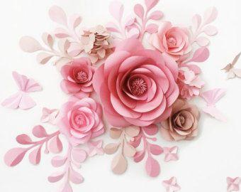 Papel de pared flor Telón de fondo de la boda Fondo por Needlejob