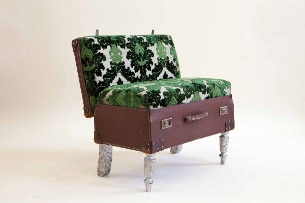 25 best ideas about suitcase chair on pinterest makeup for Where to throw away furniture