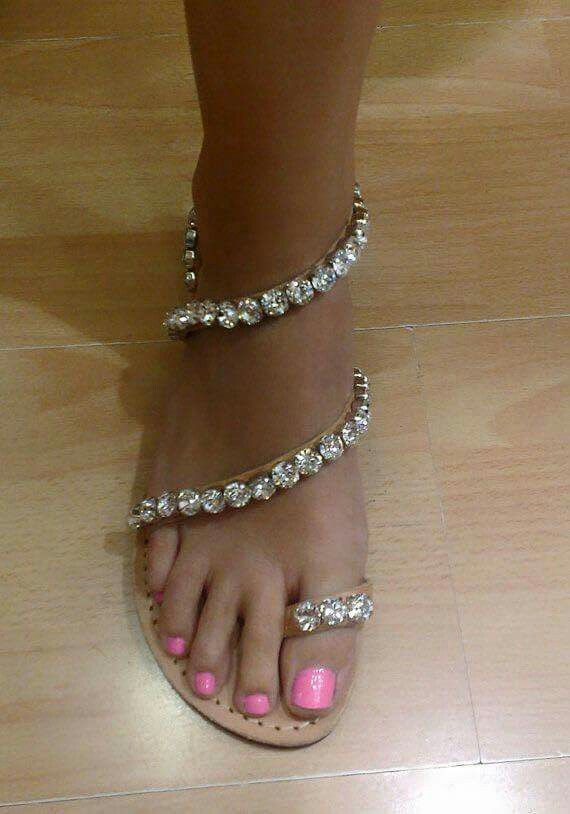 There's nothing like wearing sandals... pic only