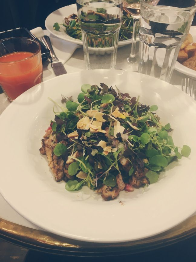 Superfood salad with Chicken @202