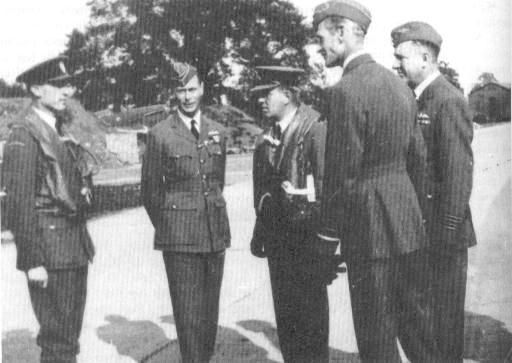 G/C Stanley F Vincent (far right) oversees the visit of King George VI to RAF Northolt on 26 September 1940. Following the deployment of No 303 Squadron RAF from 2 August, the 43-year-old station commander did what he could to instil a grasp of the English language in the Poles, who were given bicycles, told to don wireless transmitters and made to wheel around Uxbridge football pitch in flying formation, responding to orders they received to turn one way or the other.
