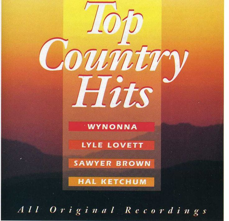 Various - Top Country Hits, Grey