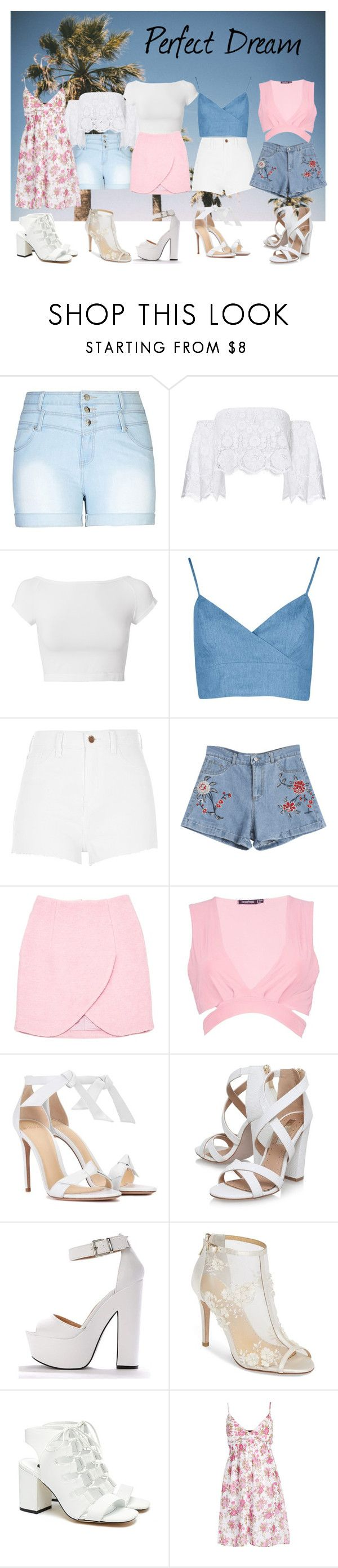 """""""Set 117"""" by jen28pup on Polyvore featuring City Chic, Miguelina, Helmut Lang, River Island, Carven, Boohoo, Alexandre Birman, Miss KG, Bella Belle and Senso"""