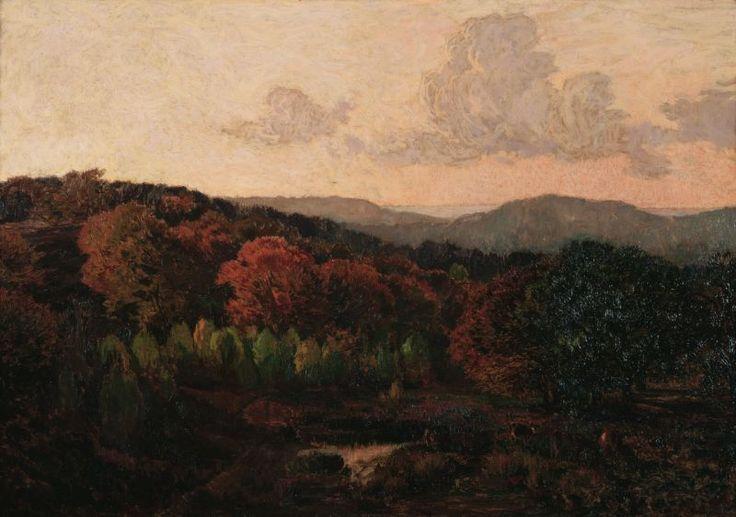 Réne Ménard - Forêt en automne
