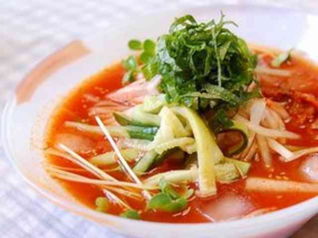 韓国冷麺の画像