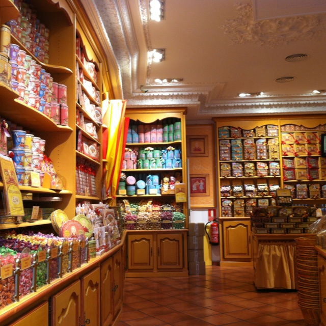 Candy store in Spain