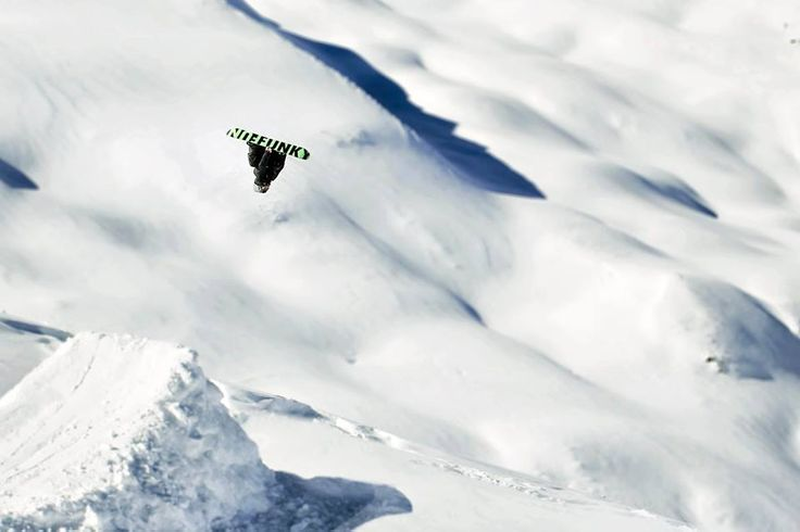 Nicolino Dioli is a real boss! Double backie on a huge kicker in Livigno,Italy!! #funky #radical #powder #Livigno #Italy #snowboard #snowboarding