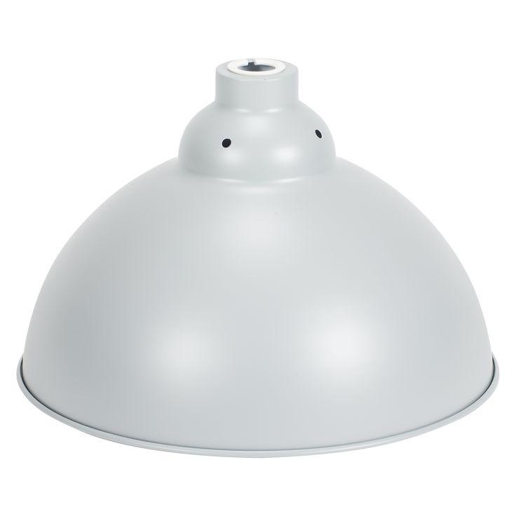 Oslo Round Grey Pendant