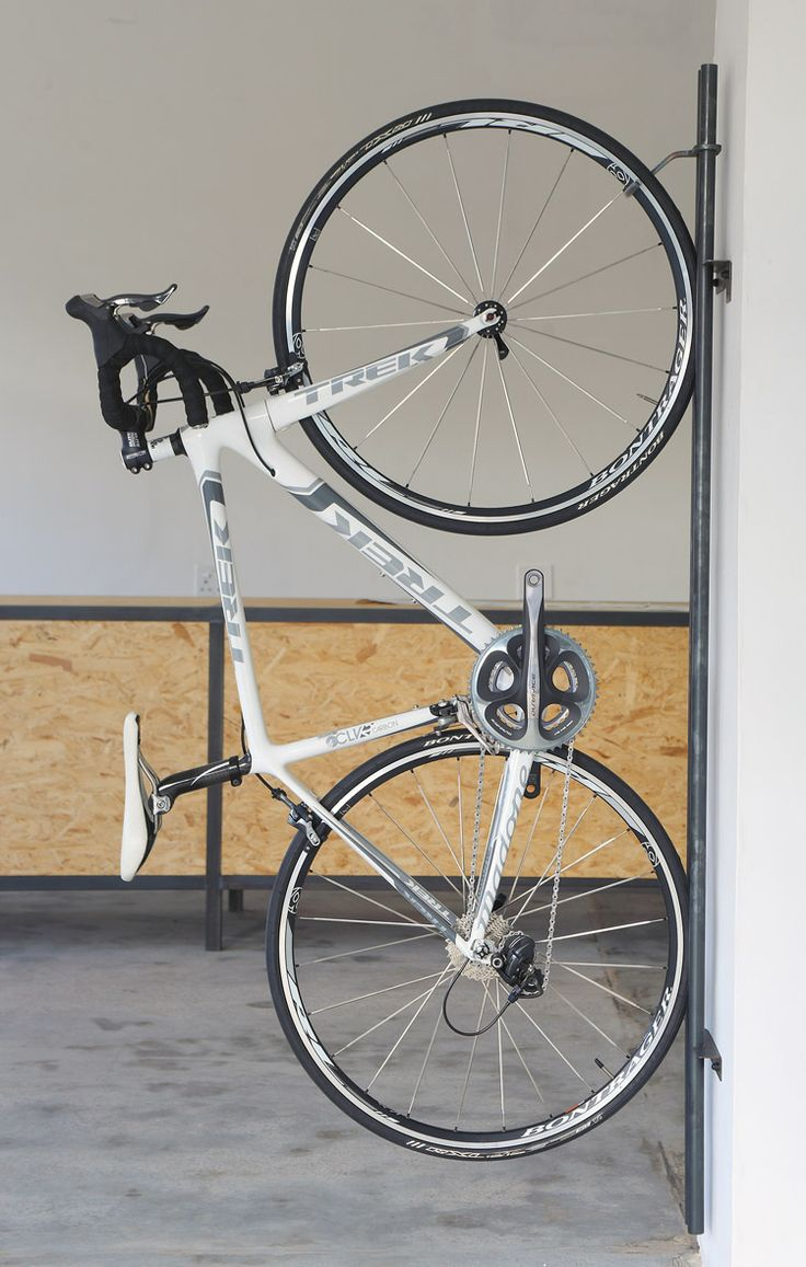 25 best ideas about vertical bike rack on pinterest. Black Bedroom Furniture Sets. Home Design Ideas