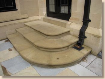 yorkstone steps new