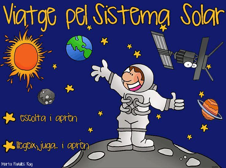 Projecte realitzat pels alumnes de P5 sobre El sistema Solar