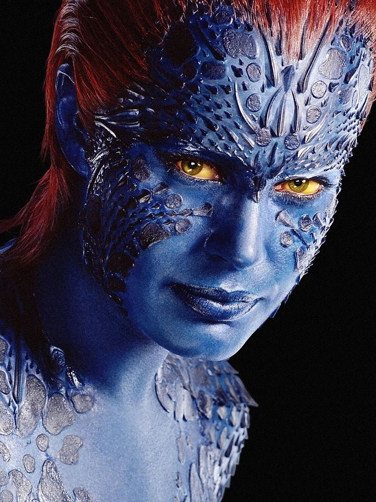 Jennifer Lawrence as Mystique. Absolutely awesome.