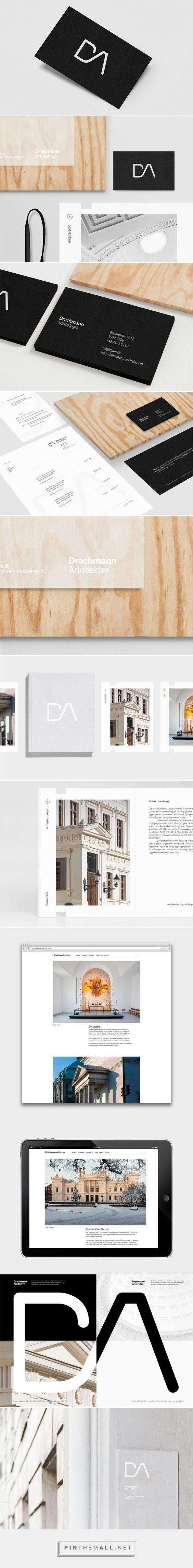 (53) DA Architects on Behance - created via http://pinthemall.net?utm_content=buffer8f8eb&utm_medium=social&utm_source=pinterest.com&utm_campaign=buffer | Branding | Pinterest / Branding / Ideas / Inspiration / BRand / Design / Minimalist / Sleek / Modern / Simple / B&W / Gray / Architecture Office