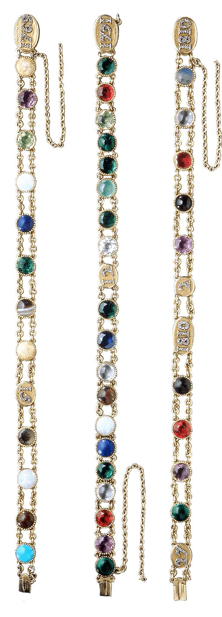 Bracelets c1810, Empress Marie-Louise