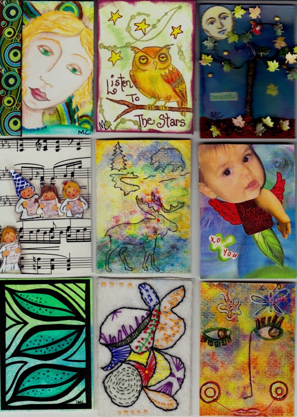 31 best Artist Trading Cards (ATCu0027s) images on Pinterest Art - sample trading card