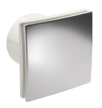Vent-Axia 100mm Timer Impression Axial Wall/Ceiling Bathroom Fan, 5020953930112