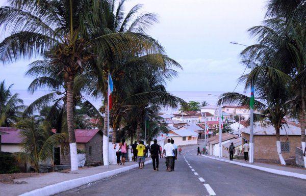 Annobon, una isla de Guinea Ecuatorial.