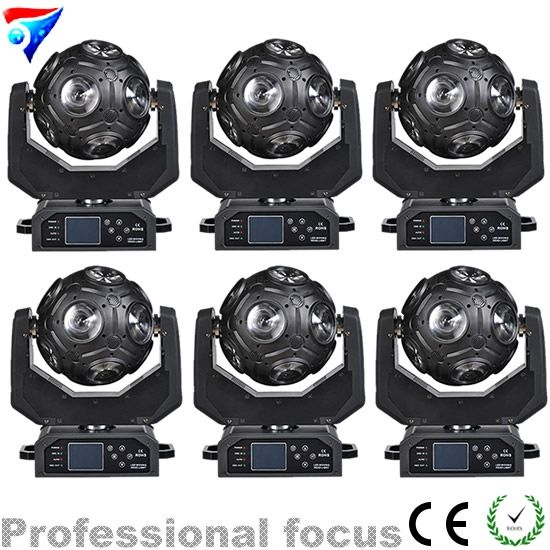 2074.60$  Watch now - http://ali0te.worldwells.pw/go.php?t=32534271292 - Free shipping 6pcs/lot There are video 12*20W Football light Moving Head beam stage light DJ light