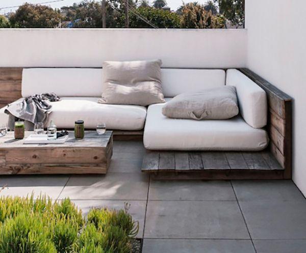 back patio love via la la lovely