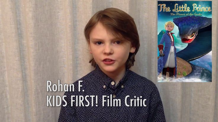 DVD Review: The Little Prince -  Planet of the Snake by KIDS FIRST! Film Critic Rohan F. #KIDSFIRST! #TheLittlePrince