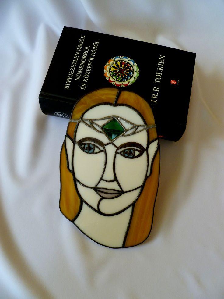 Tünde hölgy kép Tolkien regénye nyomán.