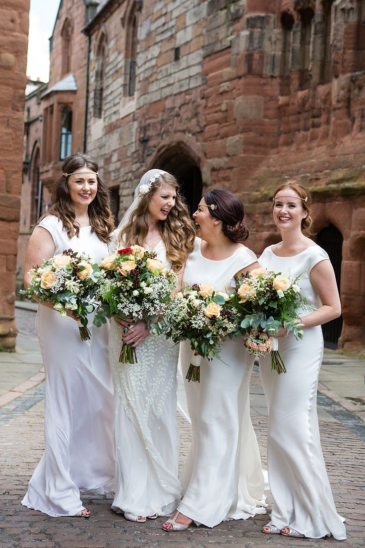 578 best bridesmaid images on pinterest bridesmaids the blog eliza jane howell and a juliet cap veil for a glamorous gatsby inspired city wedding ombrellifo Images