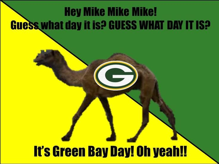 "I can't stand that commercial, but all my boys go around saying it all the time (including the oldest, dad).  Plus on game day in our house it is ""Packers Day."" Jerseys required during game time!!!  Green Bay Packers"