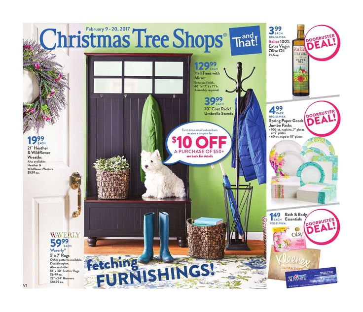 Christmas Tree Shops Circular February 8 - 20, 2017 - http://www.olcatalog.com/home-garden/christmas-tree-shops-ad.html
